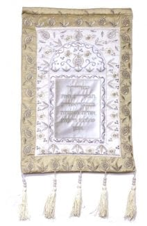Wall Decor Home Blessing Gold & Silver Pomegranates