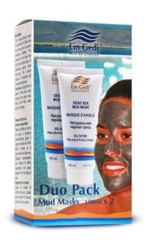DUO - Two Mud Face Masks 100 ml each