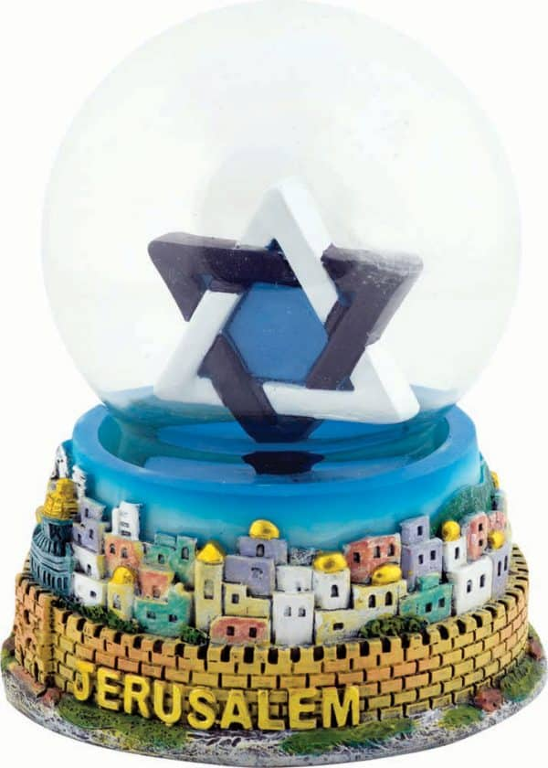 Star of David Colorful  Snowball