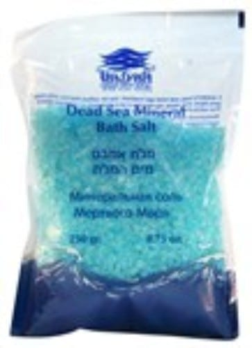 Dea Sea Mineral Bath Salt in Turquoise