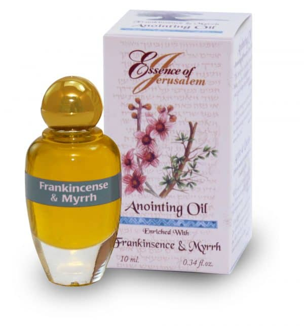 Frankincense and Myrrh Anointing Oil - Essence of Jerusalem