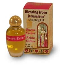 Queen Esther Anointing Oil- Blessing from Jerusalem