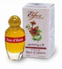 Rose of Sharon Anointing Oil   -Essence of Jerusalem (10 ml.)