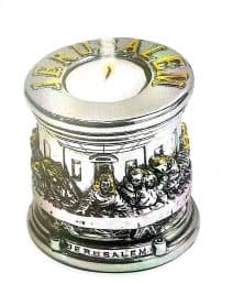 The Last Supper Single Candle Holder - 925 Electroformed Silver