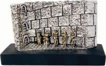Jewish Kotel Western Wall Jerusalem Miniature 925 Sterling Silver