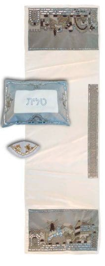 Jeweled Tallit Jerusalem