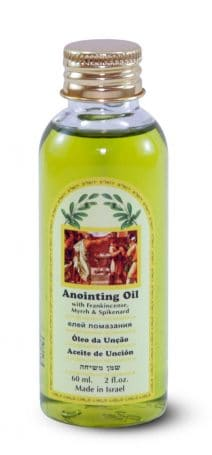Anointing oil with Frankincense, Myrrh & Spikenard