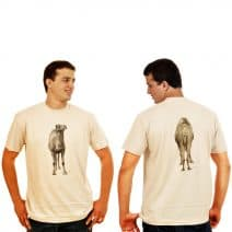 The Camel  T-Shirt - Front and back
