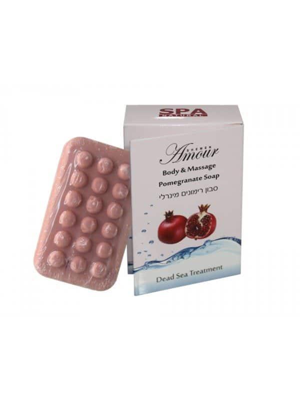Face & Body  Pomegranate  Massage Soap