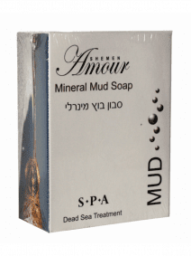 Face and Body Mineral Mud Soap (125 gr.)