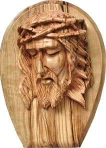 Jesus with the Crown of Thorns Wall Plaque