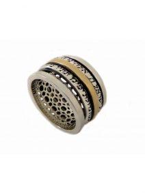 Shema Israel & Ana Bekoach Spinning Ring