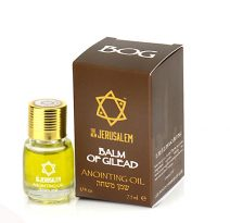 Balm of Gilead Anointing Oil from Jerusalem