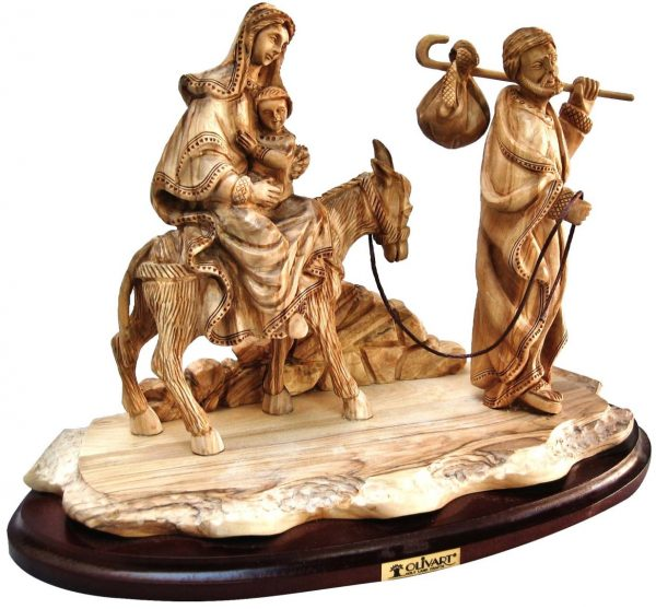 The Flight to Egypt - Expressive