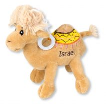 Camel Plush Doll with Israel Embroidered