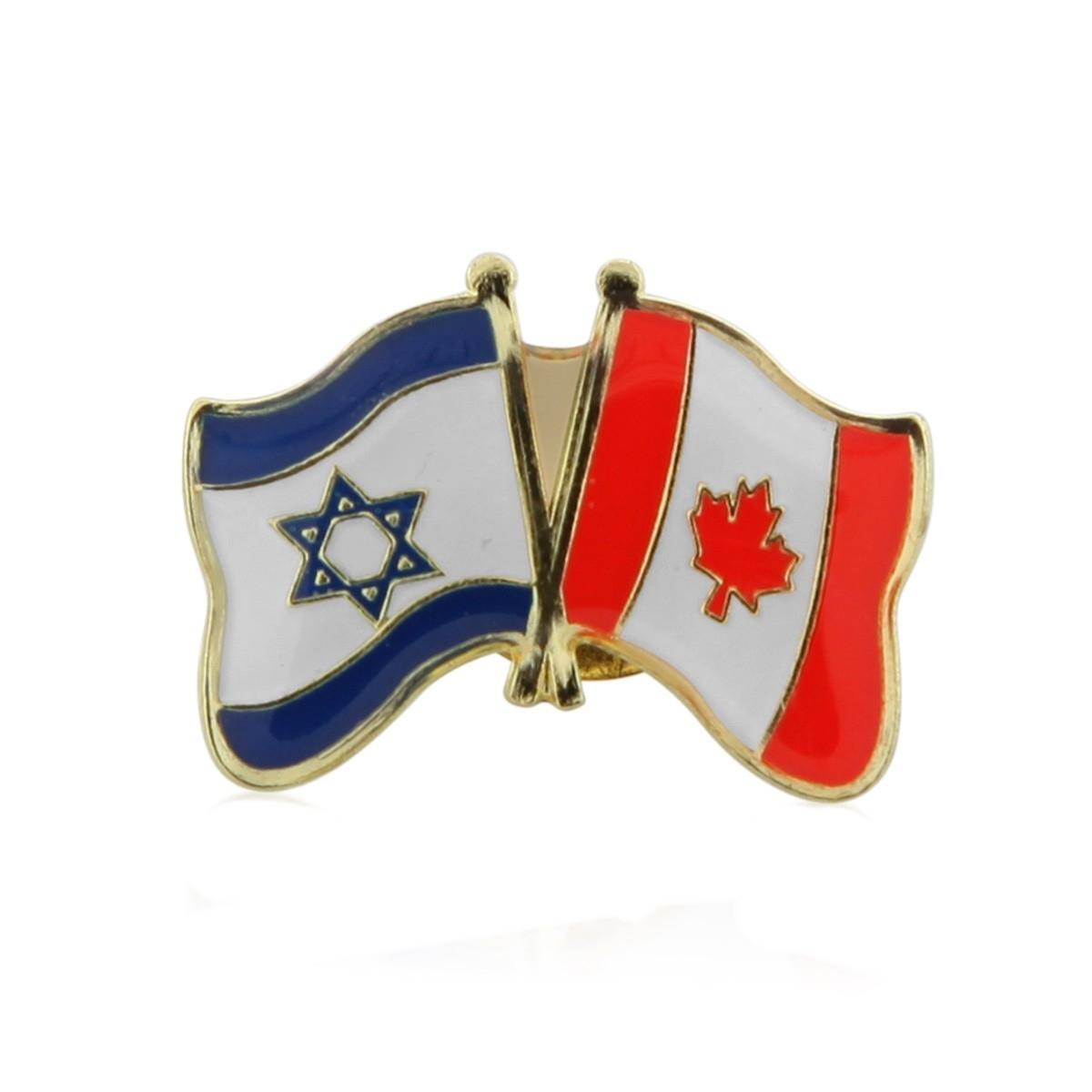 Canada   Israel Friendship Lapel Pin