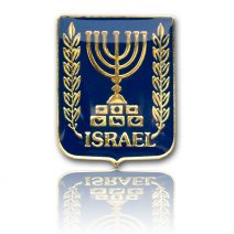 State of Israel Seal Lapel Pin - Holy Land Gift