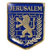 Jerusalem Seal Lapel Pin  - Holy Land Gift