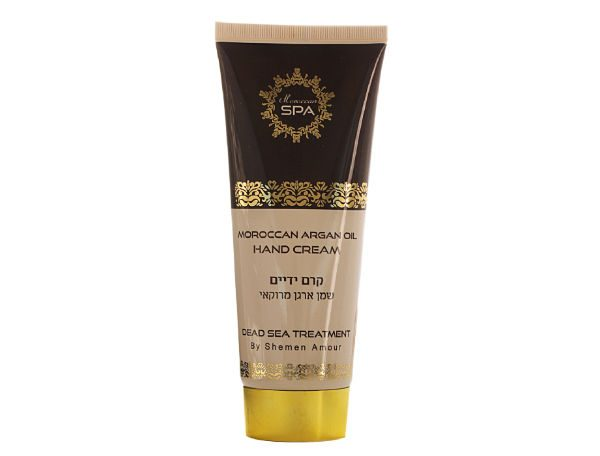 Dead Sea Mineral Moroccan Argan Oil Hand Cream - Dead Sea Cosmetics - Holy Land Webstore