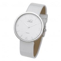 Adi Watches Woman Elegant White Wrist Watch Citizen Mechanism Quartz