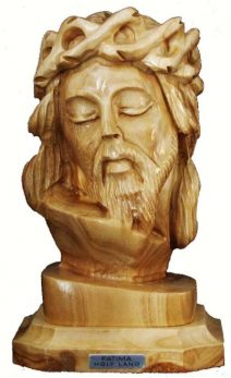 Jesus with the Crown of Thorns Bust