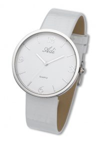 Adi Watches Woman Elegant White Wrist Watch Citizen Mechanism Quartz