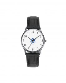 Star of David Silver Watch by Adi