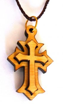 Fashionable 3D Cross Pendant