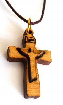 Cross with Jesus 2D Pendant