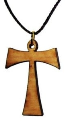 Tau (Tav)- Franciscan Cross Pendant