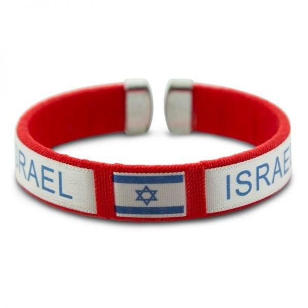 Israel Bracelet Red