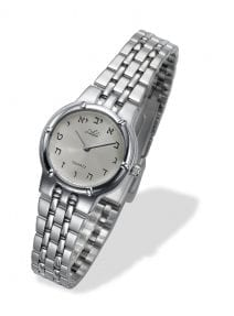 Elegant  Hebrew Letters Woman Watch by Adi