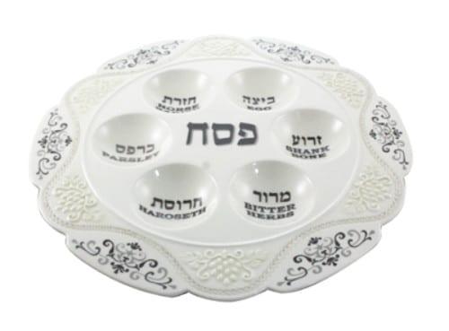 Ceramic Seder Plate Star of David