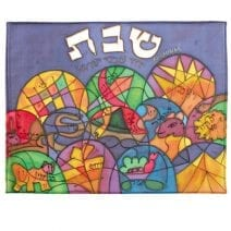 Silk Challah Cover The Twelve Tribes