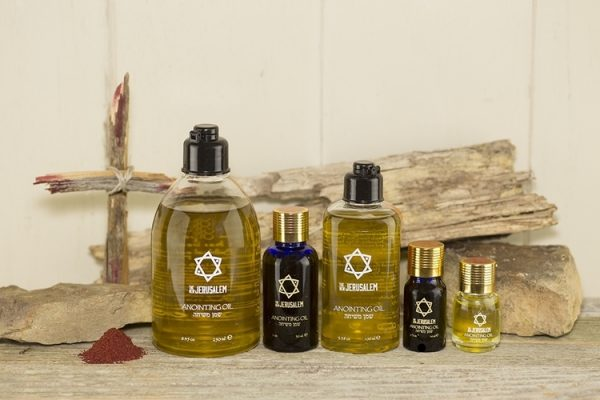 The New Jerusalem Henna Anointing Oil from Jerusalem