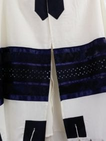 Wool Tallit with Stars of David(Magen David) - Holy Land WebStore