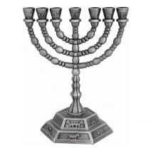 7-branch-menorah-12-Tribes-Temple-Design-in-Pewter-Holy-Land-gift-52-162721610593