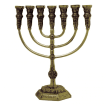 7-Branch-Menorah-Temple-Replica-85-Brass-Jerusalem-Israel-Gift-152753489019