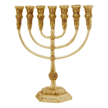 7-Branch-MenorahTemple-Replica-177in-Gold-Plated-Jerusalem-Israel-Gift-152753485041
