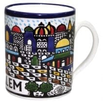 Armenian Ceramic Mug Jerusalem