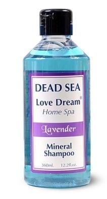 Dead Sea Mineral Shampoo Perfumed Lavender -Collection Love Dream