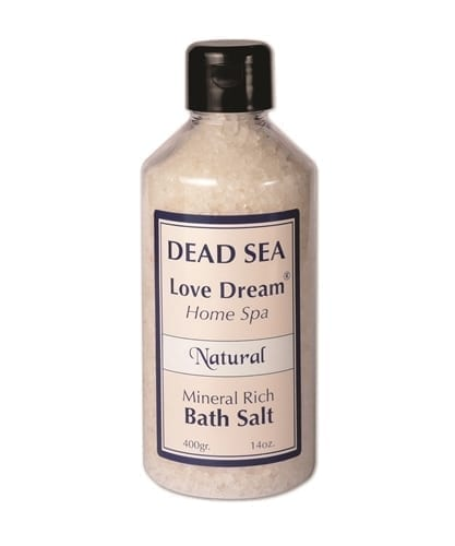 Dead Sea Mineral Rich Bath Salt Natural -Collection Love Dream 400gr
