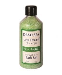Ein Gedi Mineral Rich Bath Salt Eucalyptus-Collection Love Dream, Dead Sea Cosmetics | Holy Land Web Store
