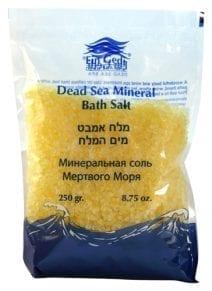 Dead Sea Mineral Perfumed Bath Salt in Yellow