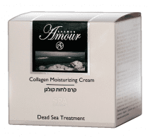 Dead Sea Products Collagen Moisturizing Cream by Shemen Amour - Holy land WebsStore